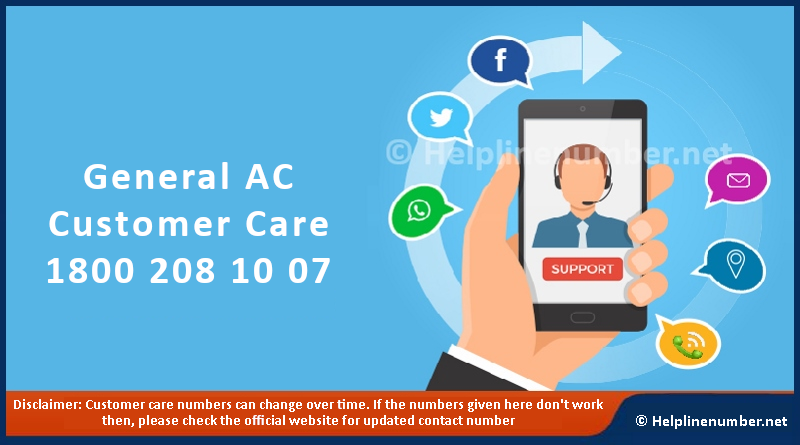 General AC Service Center And Customer Care Number